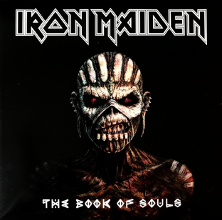 Iron Maiden ‎- The Book Of Souls (LP) (EX/VG-)